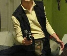 Homemade Han Solo Costume STAR WARS