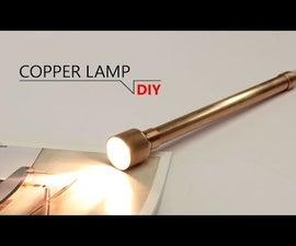 DIY - INDUSTRY COPPER LAMP