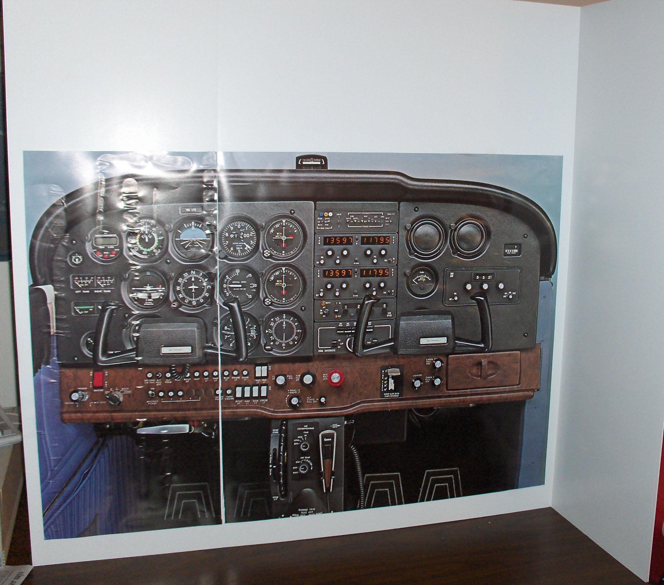 Make a Desktop Cessna 172 Practice Dashboard (visual Only): 3 Steps