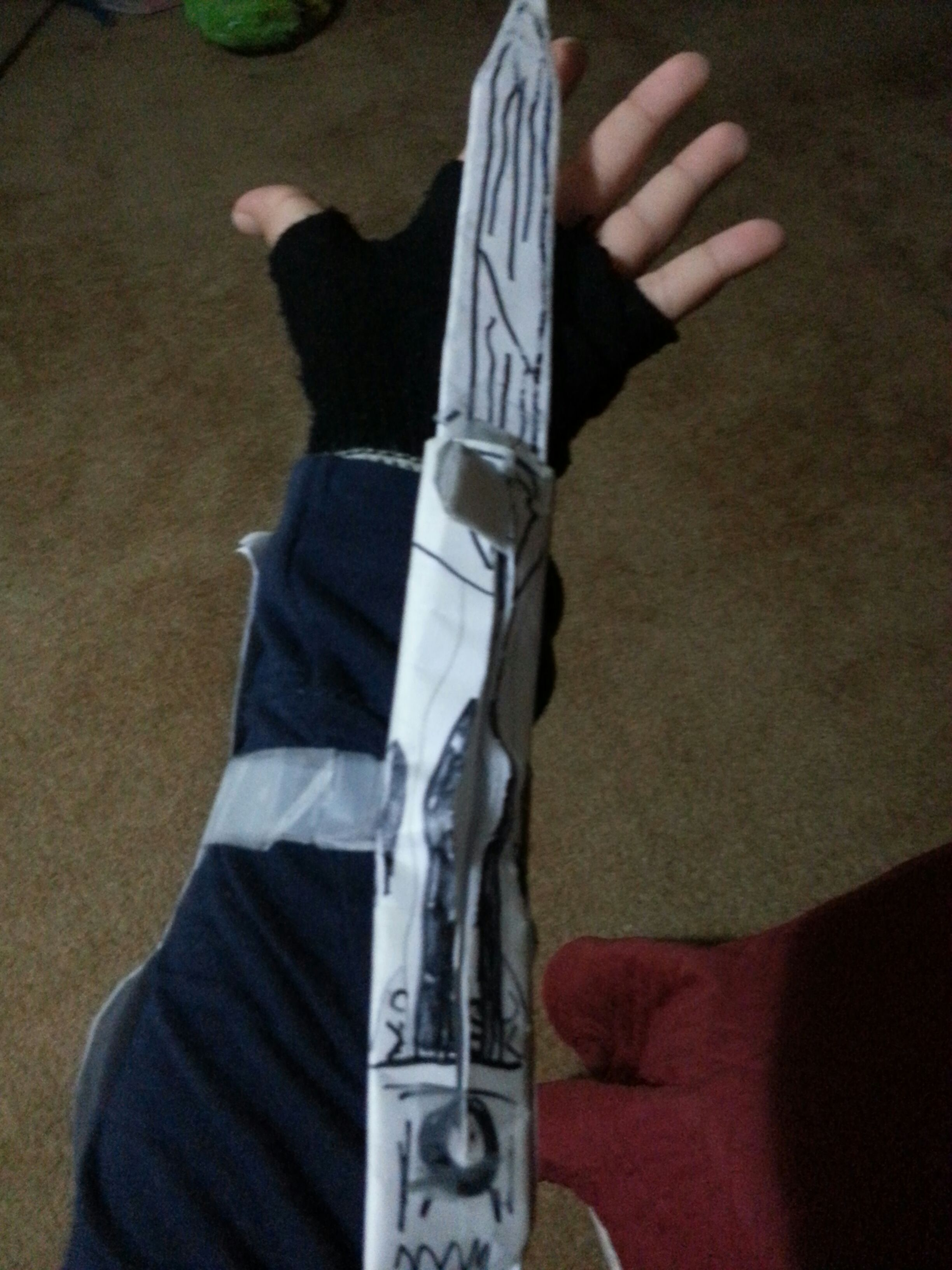Picture of My Assassin's Creed Brotherhood Hidden Blade