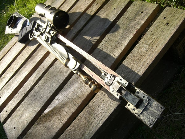 Steampunk Dystopian Sniper Rifle (Mercury Bow)