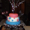 Memorial Day Cake