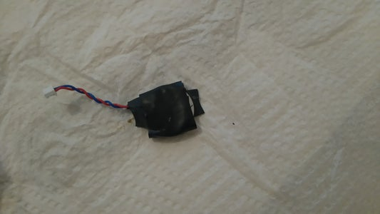 After Soldering the Terminals Onto the New Battery, Wrap in Electrical Tape.