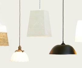 5 Ways to Make Hanging Lamps