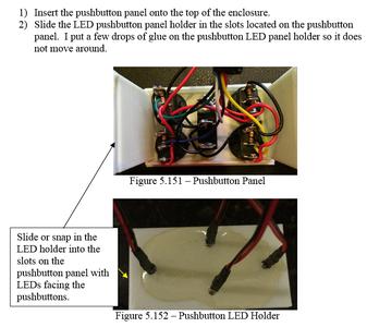 Solder the Ultraviolet LED Leads