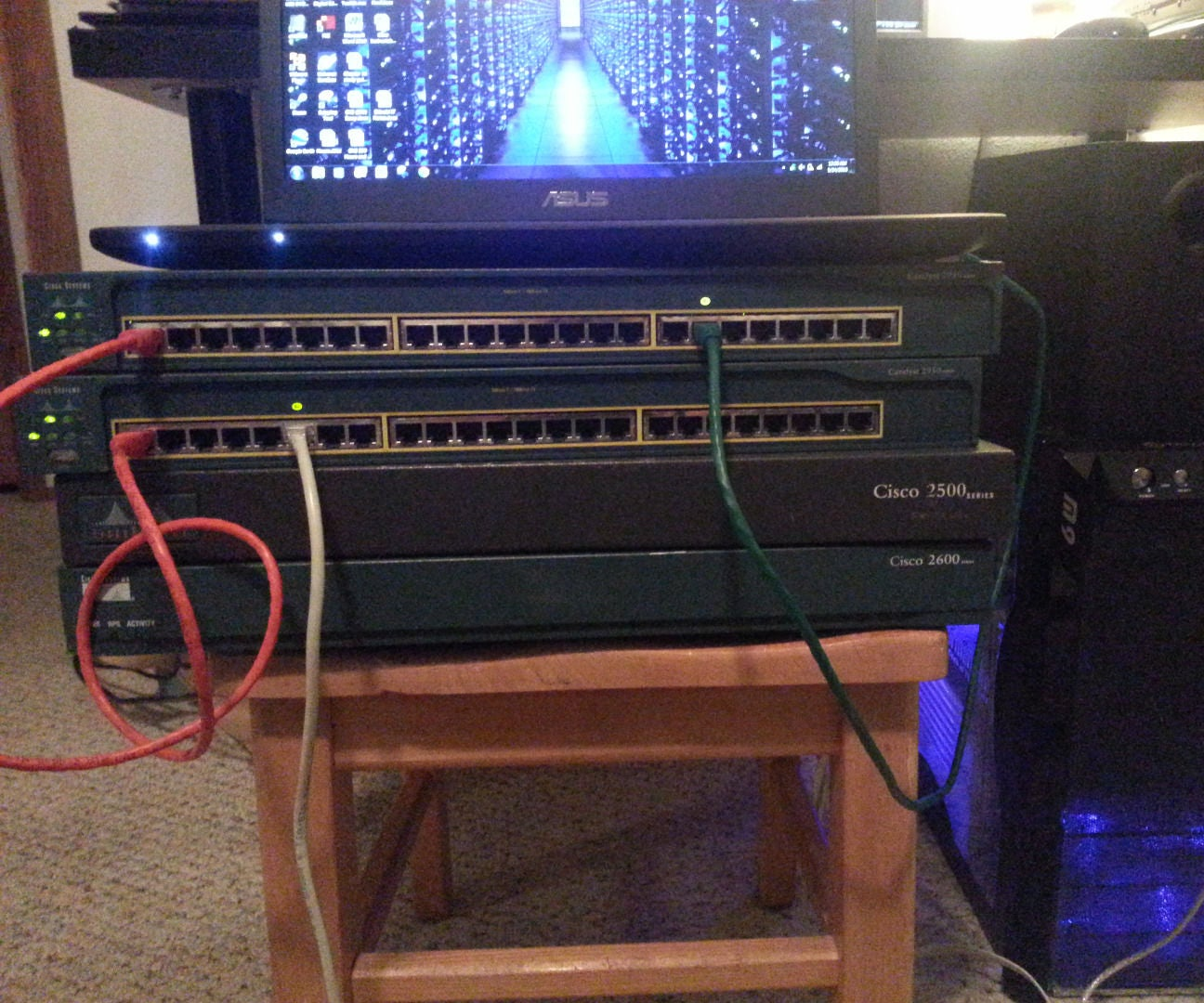 Setting Up A Basic Cisco Home Lab 7 Steps Wiring Network Switch