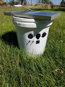 Solar Power Bucket