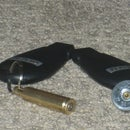 Rifle/Shotgun Shell Key Chain