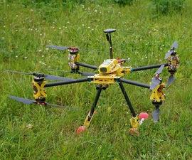 Xcompact: how to make a portable drone