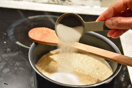 Add Sugar and Stir.