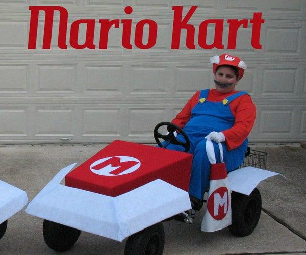 Mario Kart and Luigi Kart