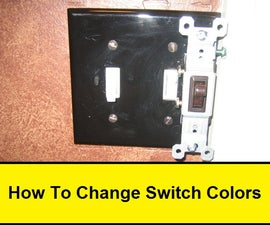 How To Change Switch Colors