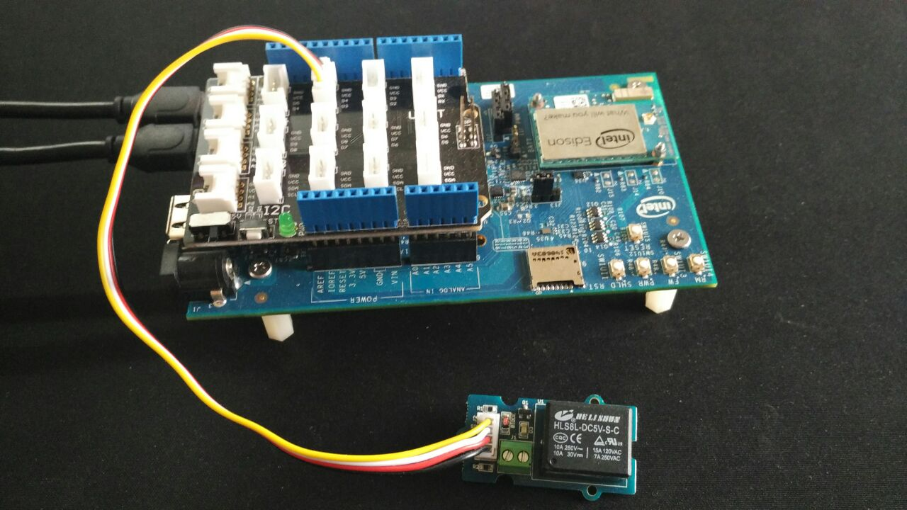 Picture of Intel Edison: BLE Controlled Lights