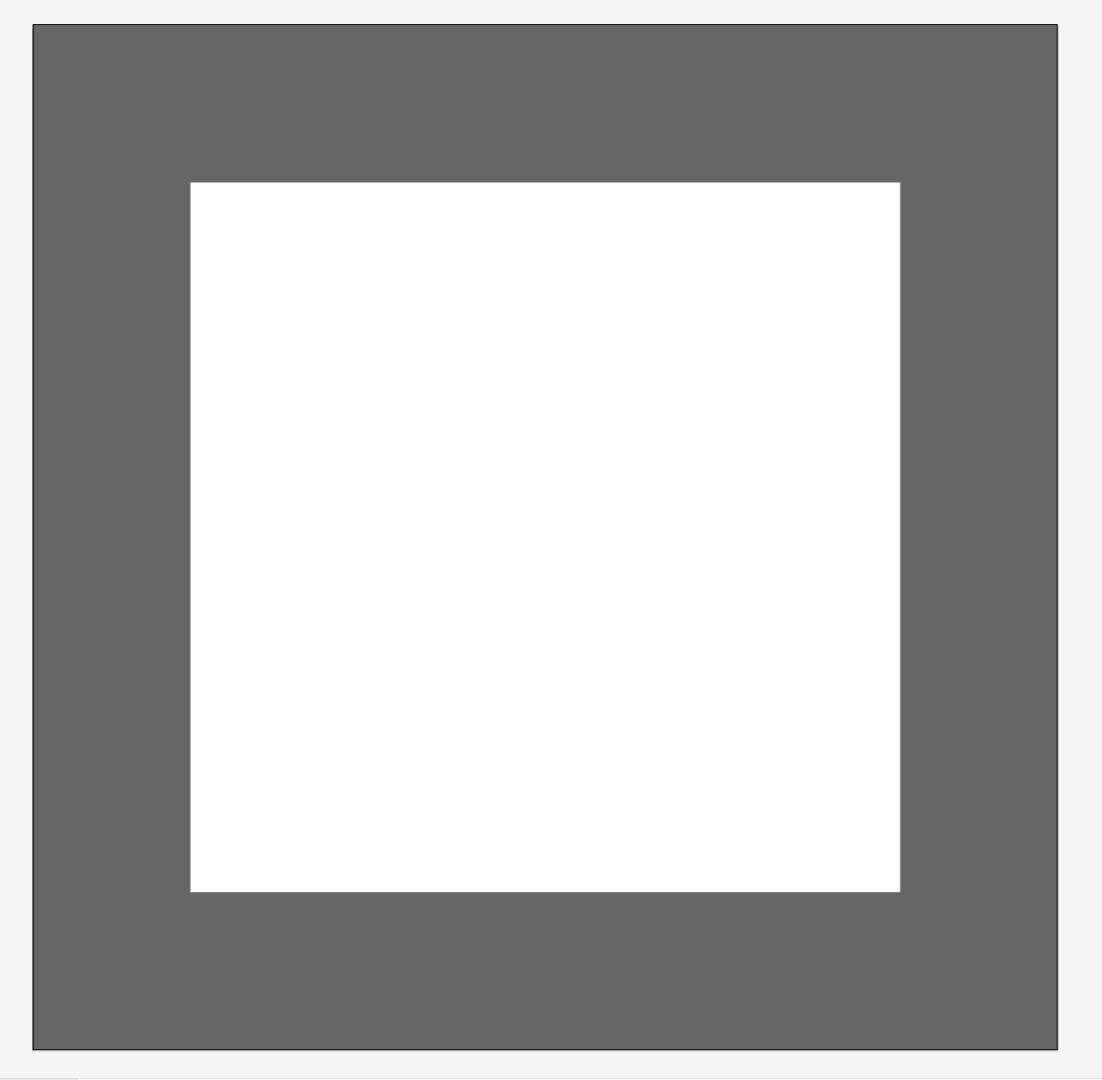 Picture of Mark Out Canvas in Illustrator