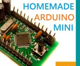 How to Make Arduino NANO   How to Burn Bootloader Onto Atmega328p-AU (SMD)
