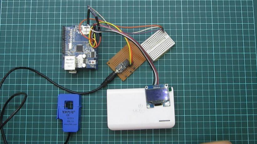 Picture of Medidor De Corriente No Invasivo IoT, Sensor SCT-013-030