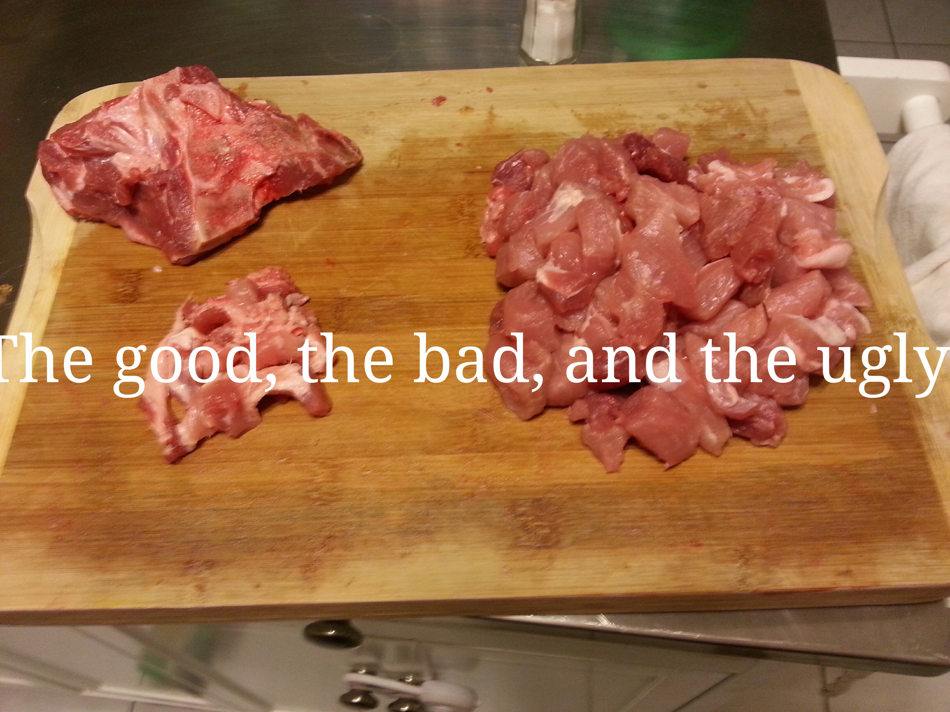 Picture of Cut and Trim the Pork