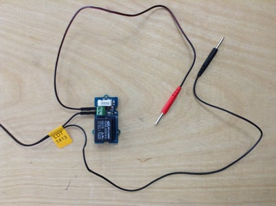 Wire Electrodes to Relay