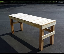 Potting Table - Sturdy and Simple