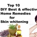 Top 10 DIY Best & Effective Home Remedies for Skin Whitening