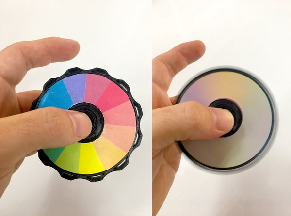 Newton Disc Spinner