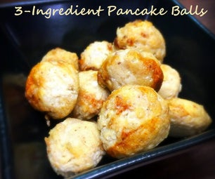 3-Ingredient Pancake Balls
