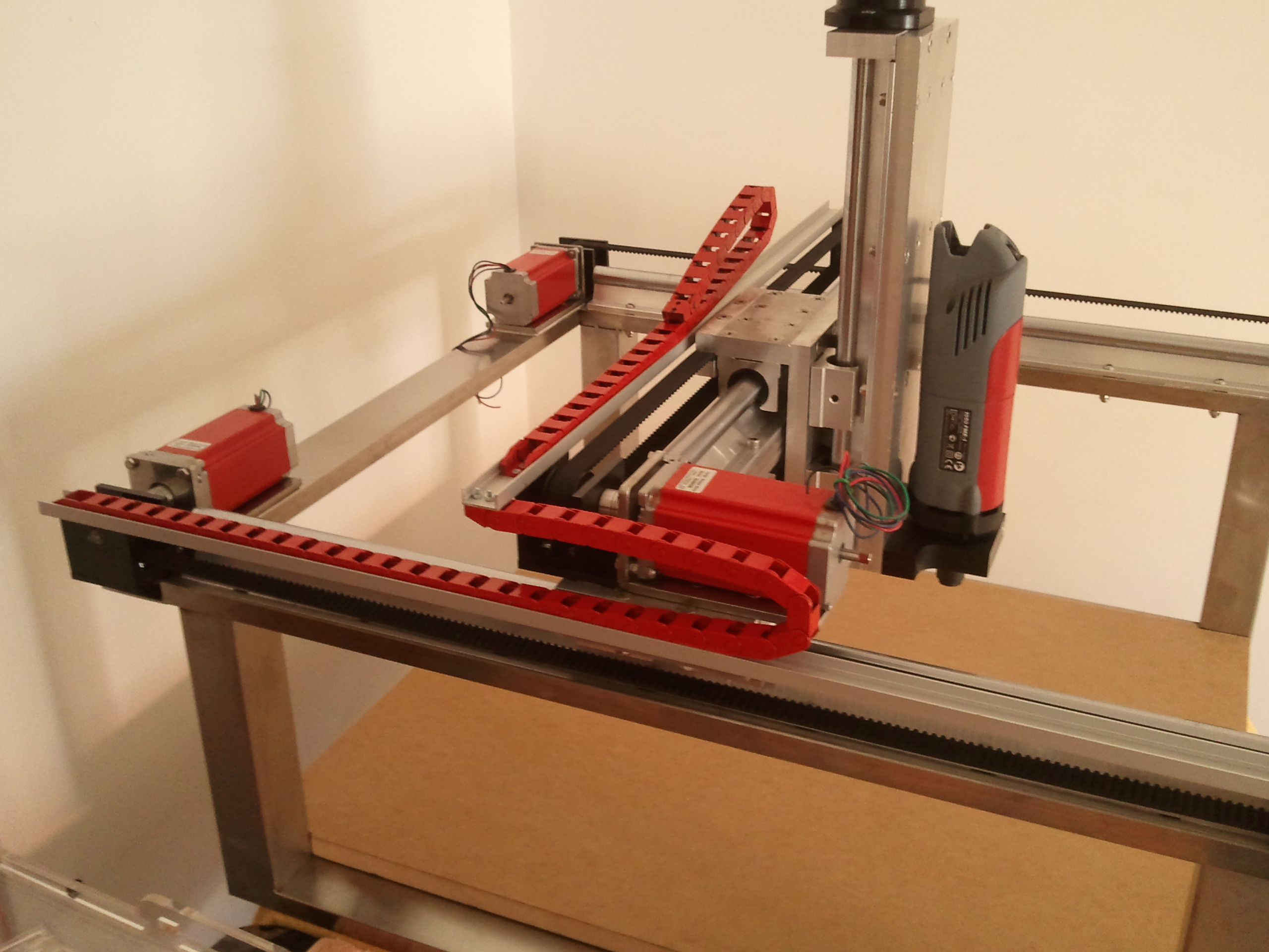 Picture of Stepper Motor Installation - Red Theme