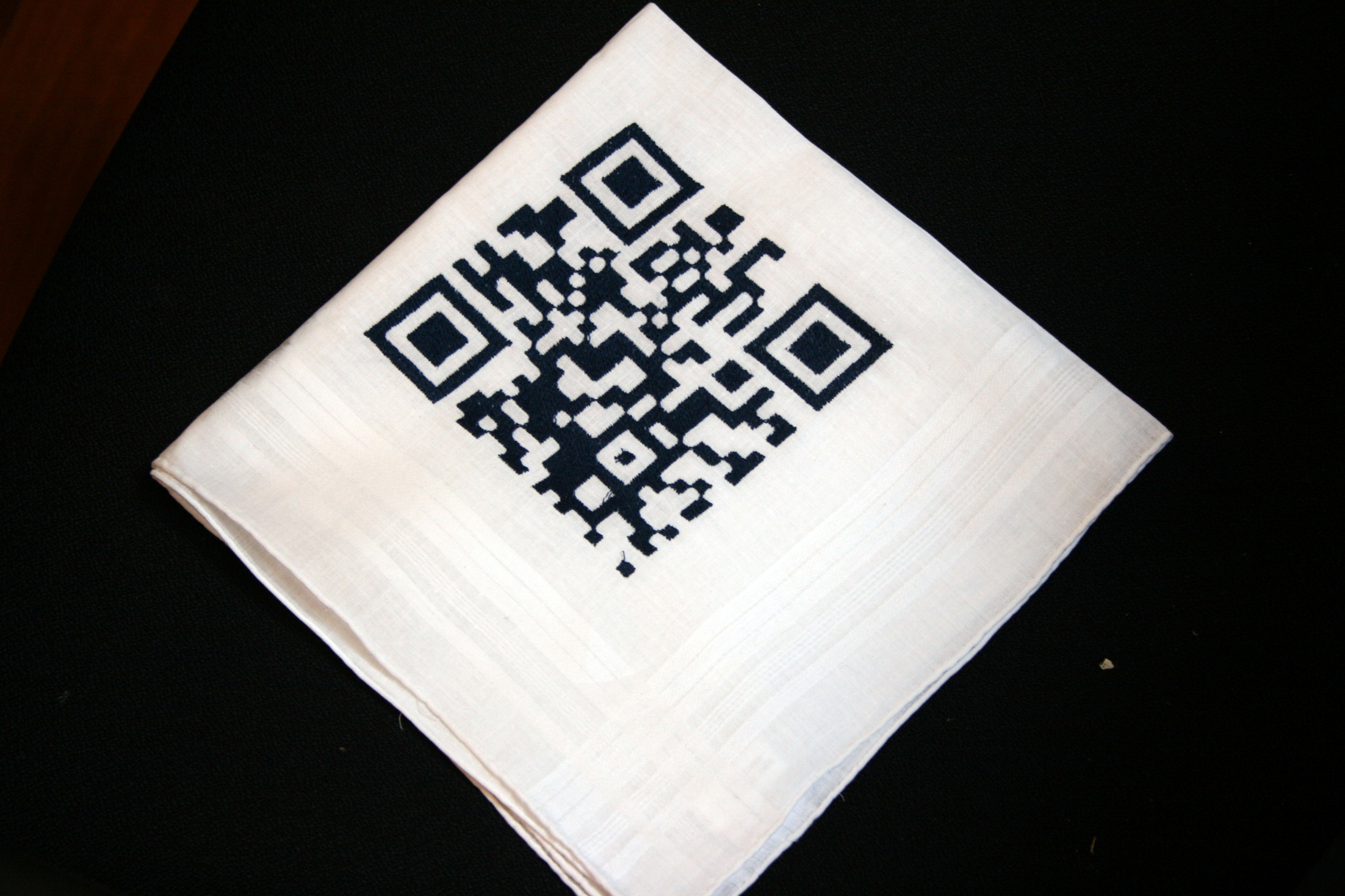 Picture of CNC Embroidery: QR Code