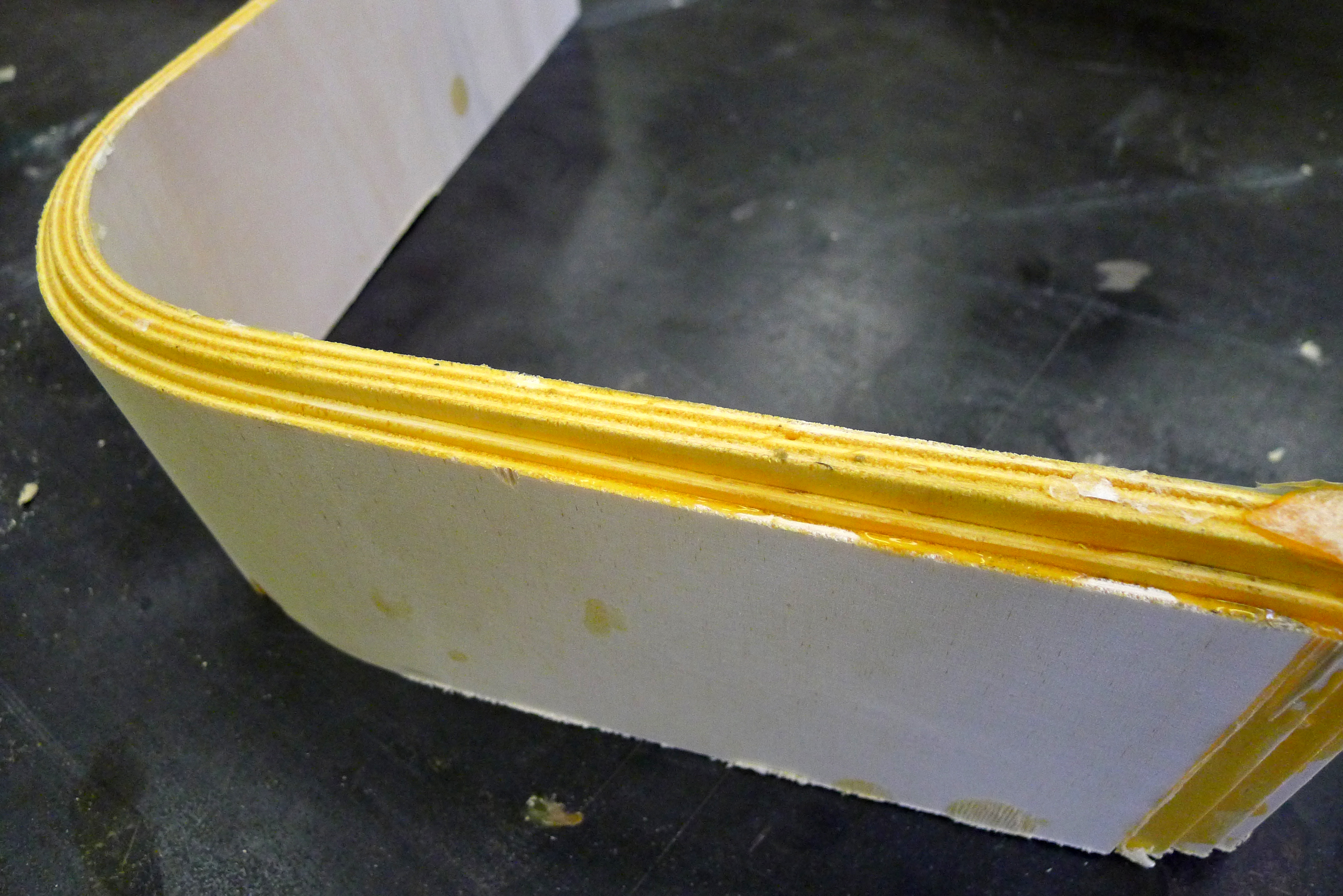Picture of Mold and First Bend