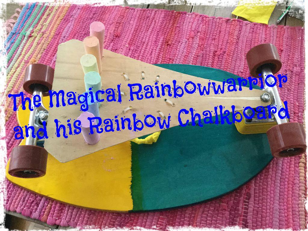 Picture of Magic Rainbowwarrior Chalk Board