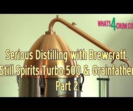 Serious Distilling With Brewcraft, Still Spirits and Grainfather – Part 2 – Alembic VS Reflux