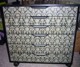 How to Customize an Ikea Alex (or any other furniture!)