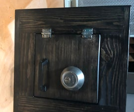 Personal Safe Lock Box - First Time Author