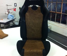 Real Leather Seat Bra for Racing Seats