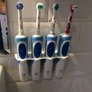 Electric tooth brush organiser