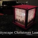 Cityscape Christmas Lamp