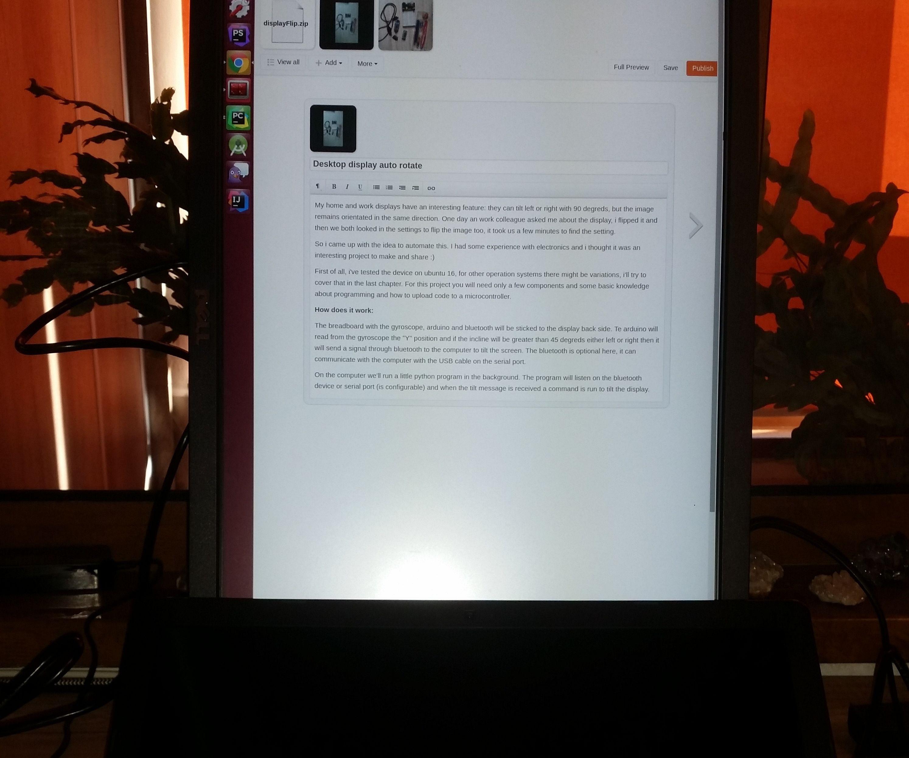 Desktop Display Auto Rotate: 4 Steps