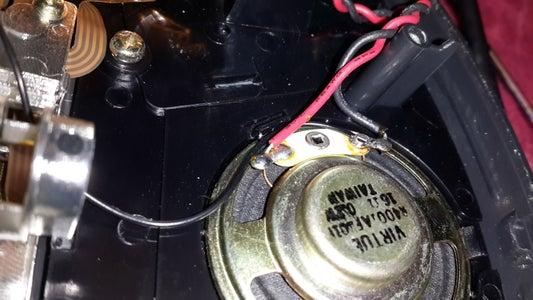 Attach Ground Wire to Speaker Ground.