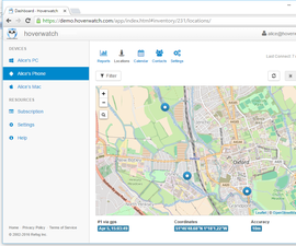How to Track the Location of Your Child Using the Hoverwatch Service?