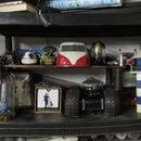Victorian Steampunk Inspired Shelf