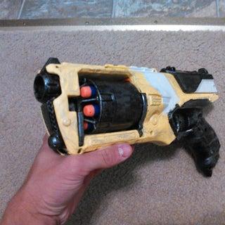 Nerf Strongarm Borderlands 2 Hyperion Gun Replica