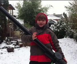 Build a Snow Cannon!