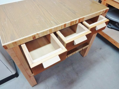 Making Quick & Easy Work Tables