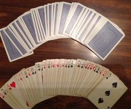 Shuffling Cards The Fancy Way