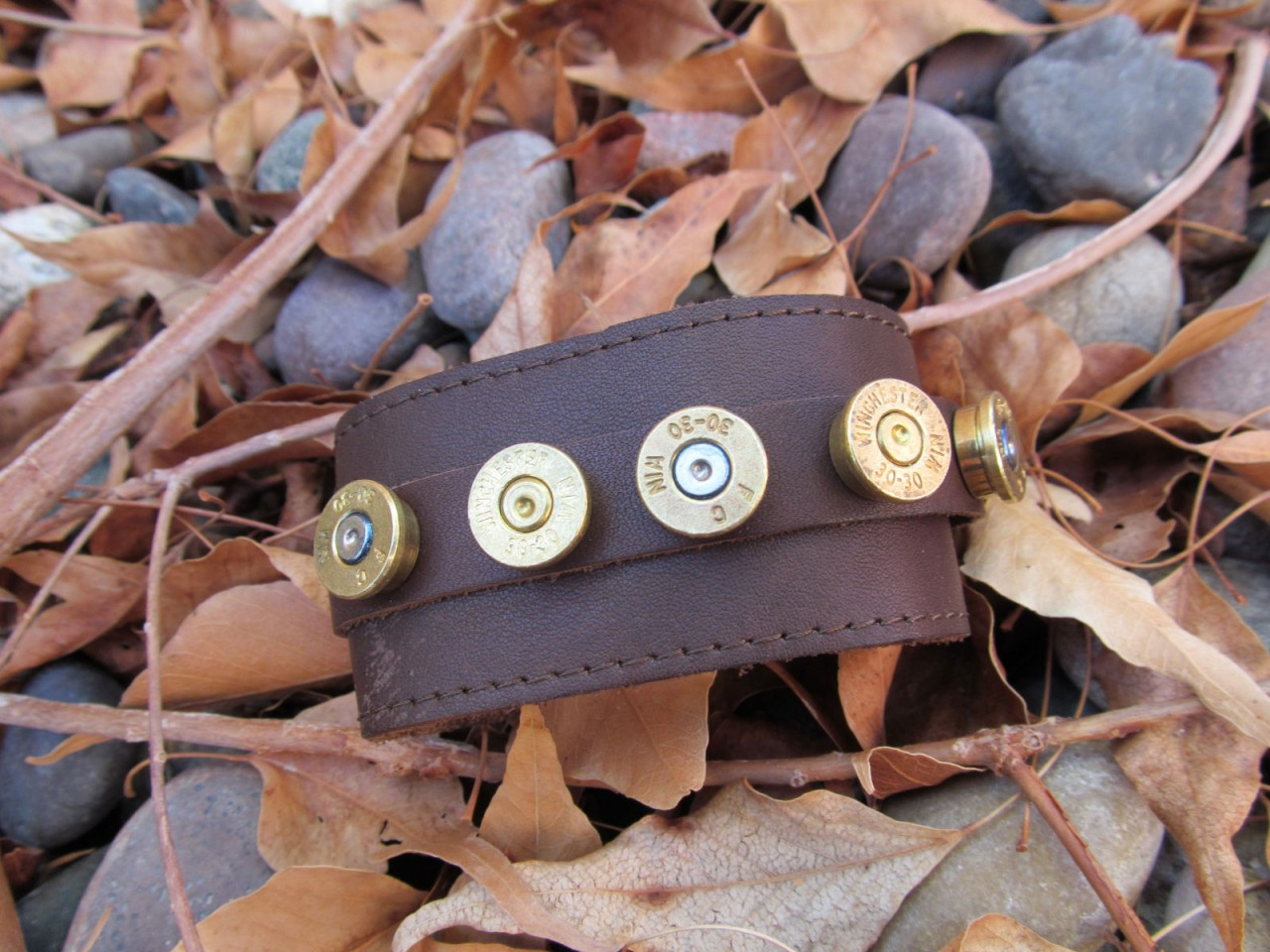 Picture of Bullet Studded Cuff Bracelet