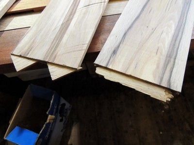 Building the Table's Central Decorative Panel in Spalted Beech