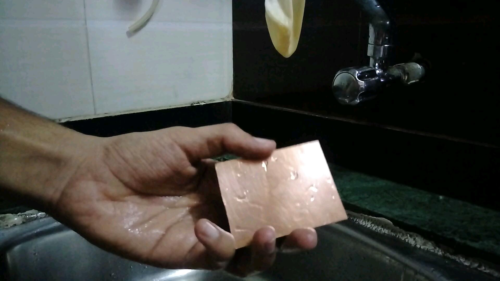 Picture of Cut and Clean Your Copper Clad