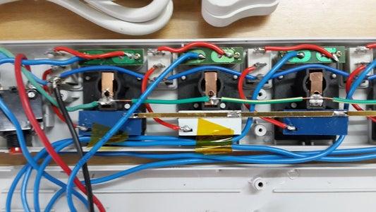 Preparing the Power Strips