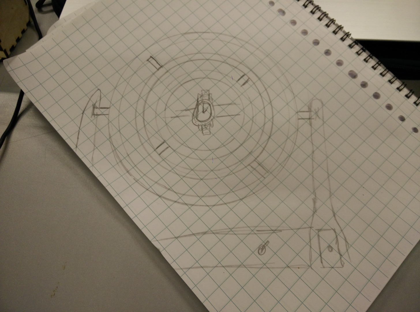 Picture of Drawing Out My Thoughts & Some Concept Material.
