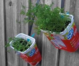 Makedo Hanging Herb Garden